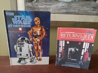 Lot of 2 Vintage Star Wars Picture Books, 1978 & 1983 Storybooks
