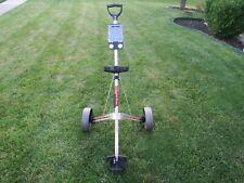 Intech PowerTrac Push Pull Two Wheel Folding Golf Bag Cart Caddy