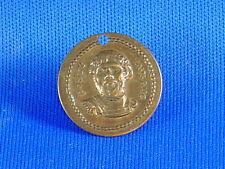 Roman Emperor Postumus Numismatic EF Aureus one sided golden brass copy Coin