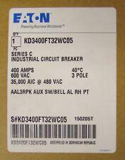 EATON CUTLER HAMMER KD3400FT32ZWC05 Type KD LSI Circuit Breaker KD3400FT32W C05