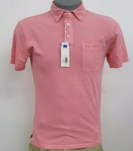 Southern Tide Light Coral Pink S/S Men's Polo Shirt NWT $69.50 Choose Size