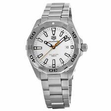 New Tag Heuer Aquaracer White Dial Men's 41mm Quartz Watch WBD1111.BA0928