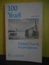 United Church in Lewisporte Newfoundland 100 Years 1876-1976