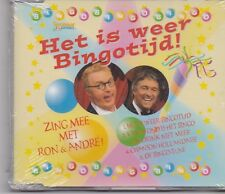 Andre Van Duin&Ron Brandsteder-Het Is Weer Bingotijd cd maxi single sealed