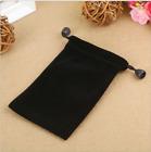 5/10/20PCS Black Velvet Bags Jewelry CellPhone Power Bank Pouch Bags 10 15CM Big