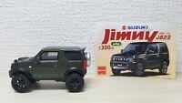 1/64 Beam SUZUKI JIMNY JB23 GREEN Jeep 4x4 car model