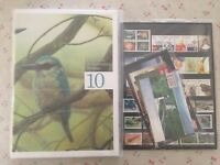 Collection of 2010 Australian Post YearBook Album with MUH Stamps - Deluxe