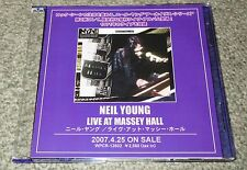 NEIL YOUNG Japan PROMO ONLY 17 track CD acetate LIVE MASSEY official MORE LISTED