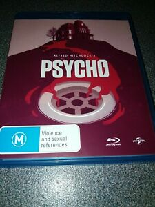 Psycho 1960 Blu Ray Classic HorrorAlfred Hitchcock Region B