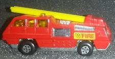 Vintage 1975 Matchbox Lesney #22 Blaze Buster Red w/Yellow Ladder