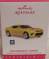 2016 HALLMARK - 2016 CHEVROLET CAMARO - CLASSIC AMERICAN CARS  - MINT IN BOX