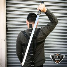 "Trinity Movie 35"" Stainless Steel Daywalker Sword Blade With Sheath"
