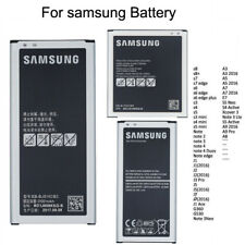 OEM Battery for Samsung Galaxy Note 2/3/4/5 S6/S7/S7/S8/A5/A5/A7 J1/J2//J5 Lot