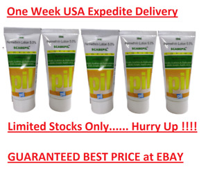 5 X 50ml (1.69 Oz) PMT Permethrin 5% Pil Lotion One Week USA Expedite Delivery
