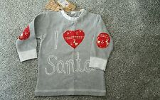 New NEXT baby  Christmas Top Size 6-9