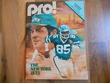 Old Vintage 1979 Pro! Program Magazine Green Bay Packers New York Jets NFL Sport