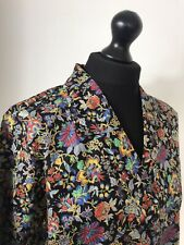 Vintage Liberty Of London Shirt Blouse, 90's Rever Collar Size 14 New Old Stock