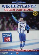Stadionmagazin 2015/16 Hertha BSC Berlin - Borussia Dortmund