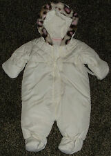 NWT Baby Girls Snow Suit Size 3-6 Months