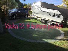 "Yaska cast net bottom pocke12ft DROP x 24' 3/4 "" MONO mesh clear C1210"