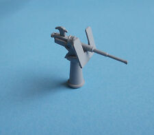 Single MK4 Oerlikon Gun in 1/72nd scale. Model Boat Fittings.
