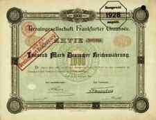 Terraingesellschaft Frankfurter Chaussée 1896 Berlin Lichtenberg Steinthal TOP