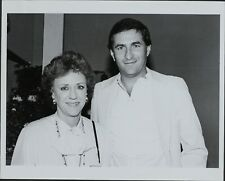 Nina Blanchard, George Wallach ORIGINAL PHOTO HOLLYWOOD Candid