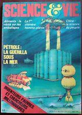 SCIENCE ET VIE n°710 du 11/1976; Pétrolle; la guérilla sous la mer/ homme-plante