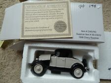 New 1928 CHEVY ROADSTER BY THE NATIONAL MOTOR MUSEUM MINT 1:32 with COA