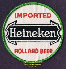 LMH PATCH Badge HEINEKEN LAGER BEER Dutch Netherland IMPORTED HOLLAND Pilsner 4""
