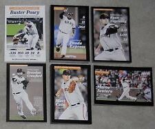 2013 Buster Posey Pablo Sandoval Cain Marco Scutaro Vogelsong Card SF Giants
