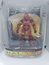 McFarlane Halo 3 Series 1 Spartan Soldier Mark VI Armor Red Action Figure