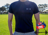 Dry Fit Mens T-Shirt GYM  RUNNING MENS SPORTSWEAR WORKOUT QUICK DRY TEE SEAMLESS