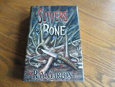 "Ray Garton ""Slivers of Bone"", signed, Cemetery Dance, New"