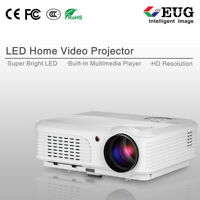 Full HD Gaming Projector LCD LED Home Theater Movie Video 1080P Party Gift HDMI