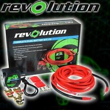 COMPLETE DUAL BATTERY KIT 12V 140A ELECTRONIC ISOLATOR FULLY AUTOMATIC  I0-90000