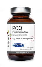 PQQ Pyrrolochinolinchinon (30 Kapseln) - Nahrungsergänzungsmittel