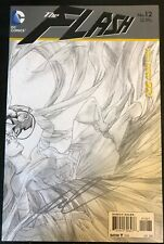 FLASH #12 Wraparound 1:25 Sketch Variant New 52 Signed by Francis Manapul NM