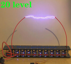 Finished  20-level high-voltage Marx generator artificial high-voltage arc