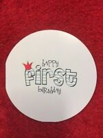 """5 Pack of Paper Eskimo """"Happy First Birthday"""" Greeting Card for Boys"""