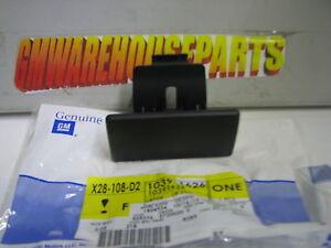 HUMMER H3 GLOVER BOX DOOR LATCH BLACK NEW GM  10391626
