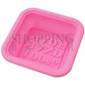 Make Your Own Soap 100% Handmade Soap Silicone Mould Mold