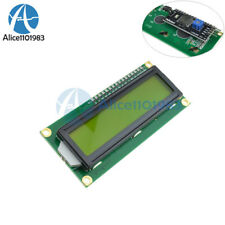 IIC/I2C/TWI/SP​​I Serial Interface1602 16X2 Character LCD Module Display Yellow