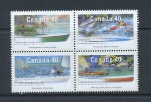 Canada 1991 SG 1428-31 Small Craft Ships MNH