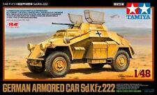 Tamiya 89777 German Armored Car Sd.Kfz.222 1/48 Ryu