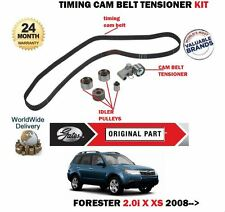 FOR SUBARU FORESTER 2.0 150BHP EJ204 3/2008-> NEW TIMING CAM BELT TENSIONER KIT