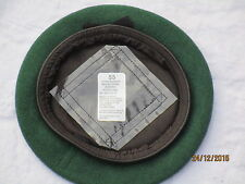 Beret Wool Knitted AGC Green,Adjutant Generals Corps,Barett grün,Gr.55 ,#SG