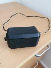 Speaker with bracket