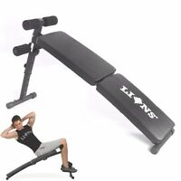 Sit Up Folding Bench Abs Crunch Weight Bench Home Gym Abdominal Fitness Exercise