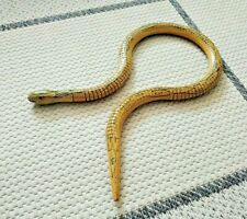 Wood ARTICULATED SNAKE Jointed Serpent Toy Hand Made